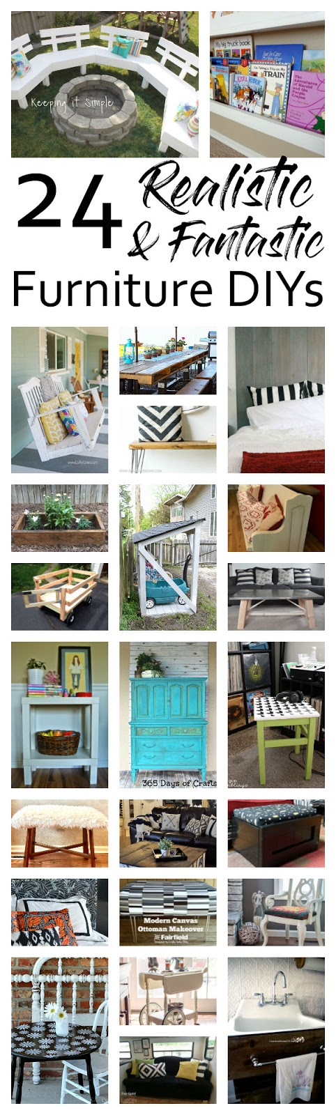 Tons of great DIY Furniture projects and tutorials