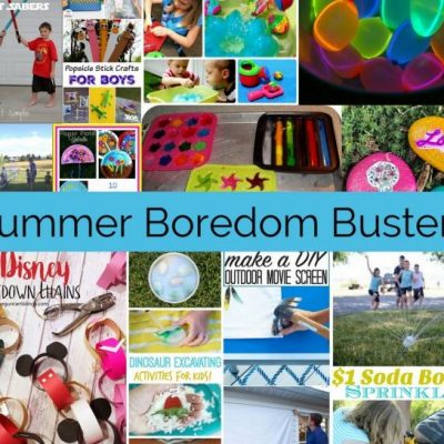 Kid Activity Boredom Busters and Block Party