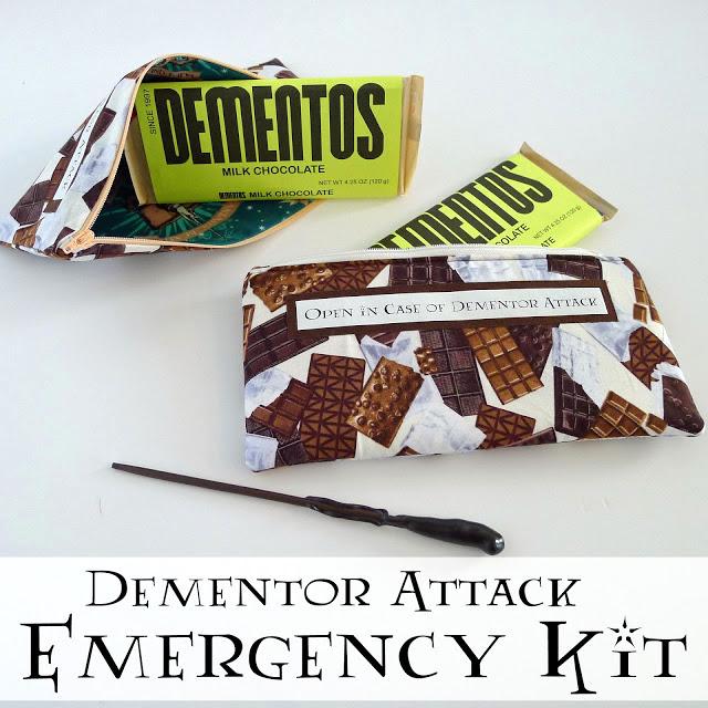 dementor attack emergency kit harry potter gift idea