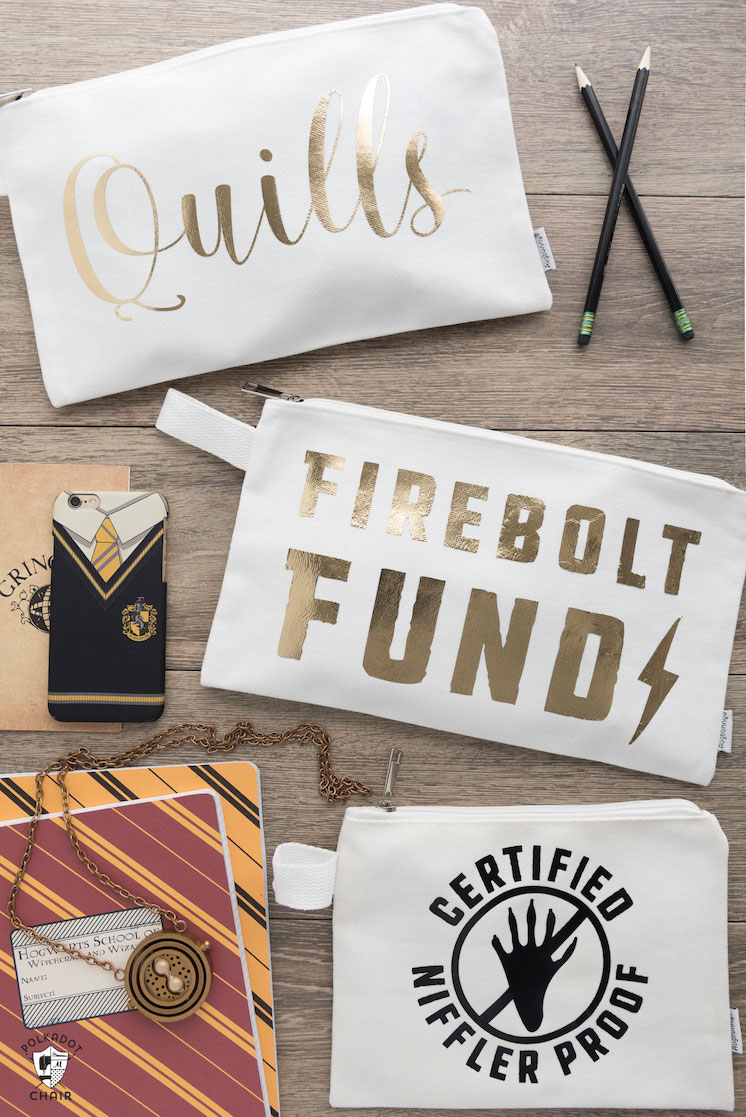 diy-harry-potter-quills bags firebolt fund niffler proof-