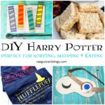 fabulous DIY Harry Potter downloadables recipes and tutorials