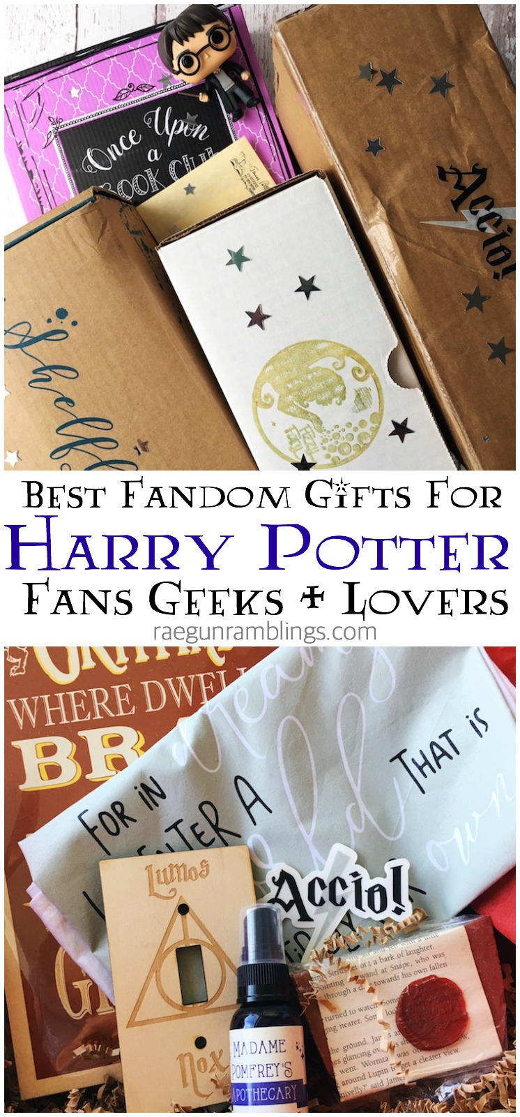 hands down the best gift for a harry potter fan or book lover