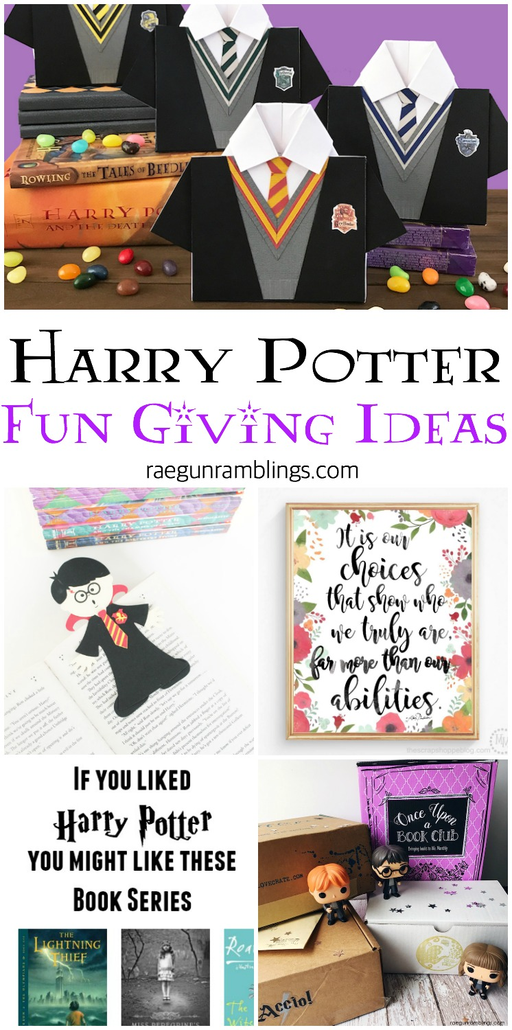 harry potter svgs printables and other fun gift ideas