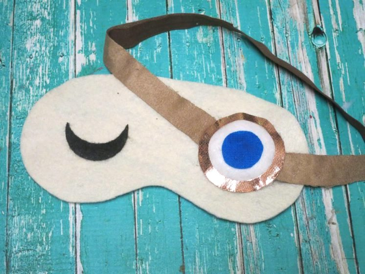mad eye moody sleep mask harry potter DIY