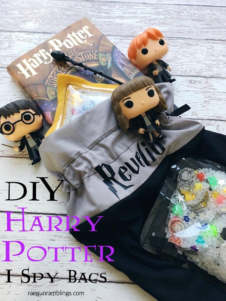 DIY Harry Potter I Spy Bags tutorial copy