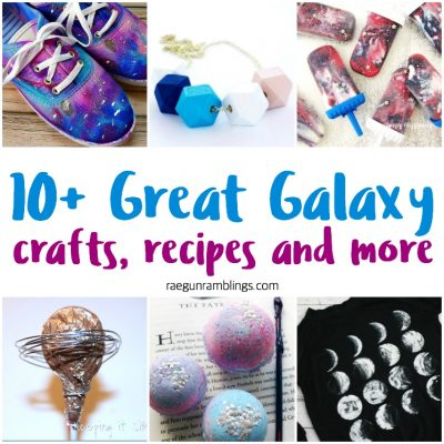 Galaxy Crafts Recipes and Block Party