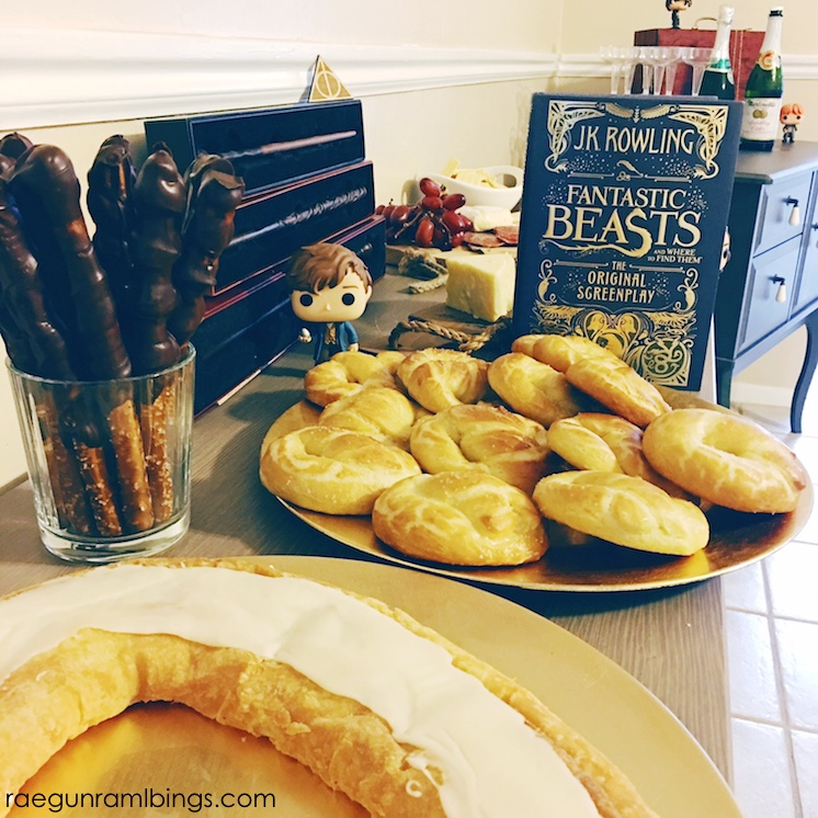 fantastic beasts and where to find them party ideas