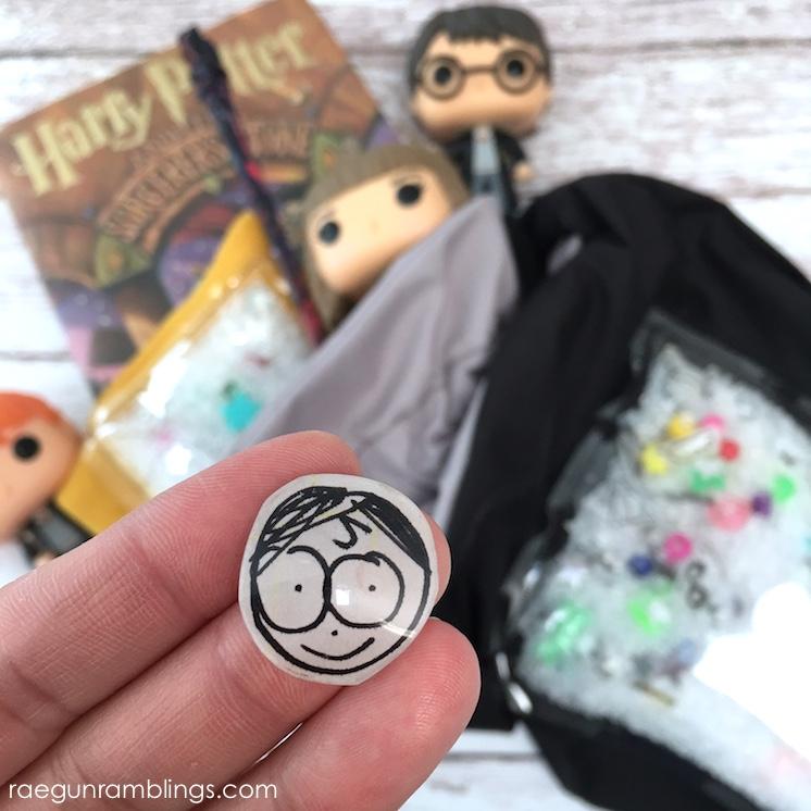 how to make Harry Potter trinkets and I Spy Bag tutorial