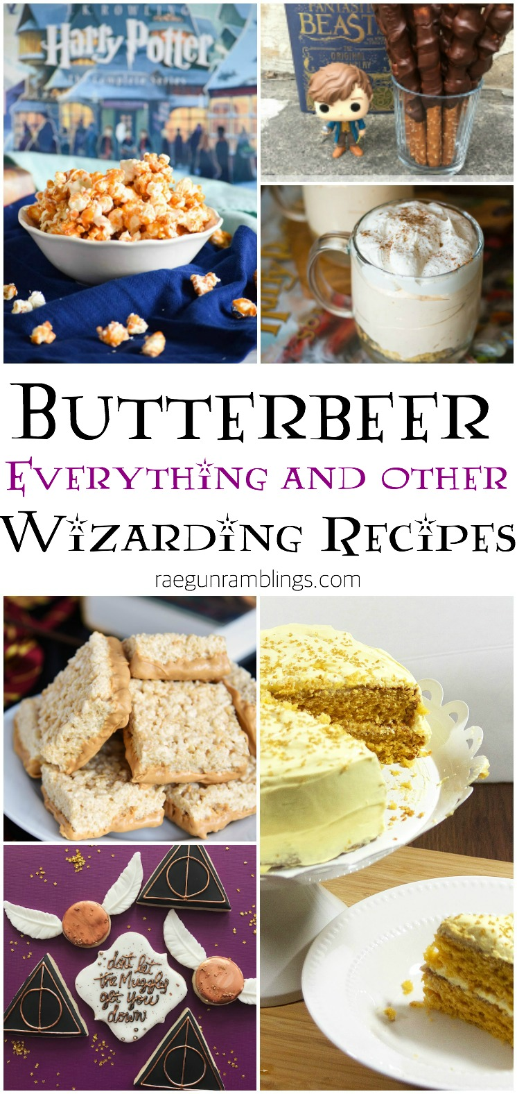butterbeer inspired recipes and other harry potter desserts and treats