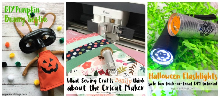 Awesome Hallowen tutorials and crafts to make with the cricut maker