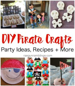 Awesome Pirate parties, recipes, costumes and kid activites