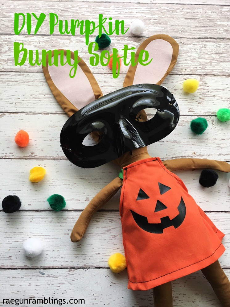 DIY Halloween Pumpkin Bunny Sewing Pattern-2