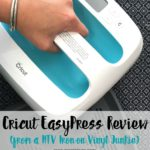 Great information about the cricut easy press and how it compares to traditional heat press machines for HTV Iron-on Vinyl DIY crafts.