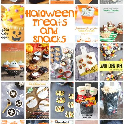 Halloween Treats Ideas and Block Party