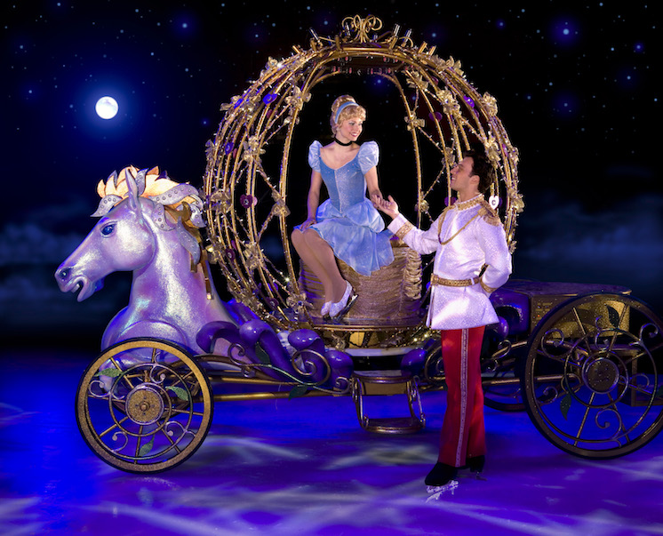 disney on ice cinderella and prince philip