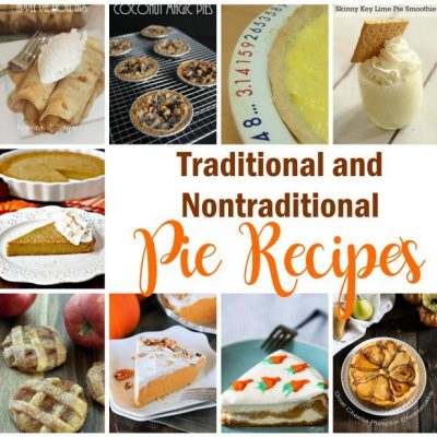 Traditional and Nontraditional Pie Recipes and Block Party