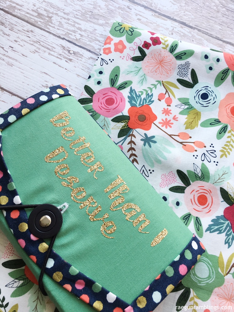 Free Organizer Pattern with Cricut - Rae Gun Ramblings