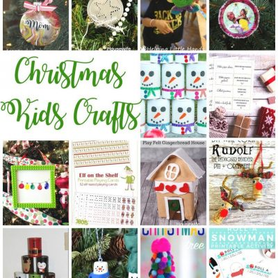 Christmas Kids Crafts and Block Party