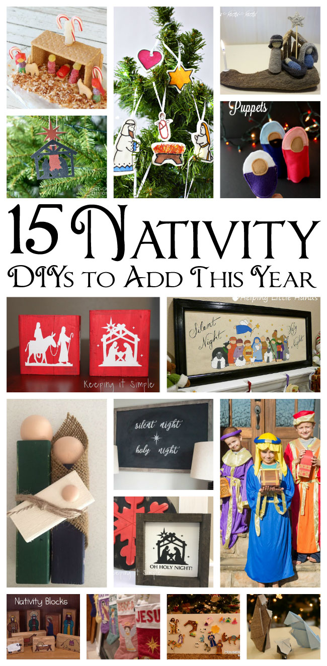 Nativity-projects DIY tutorials activities and more