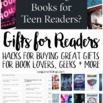 awesome tips for buying gifts for readers and geeks. books and non-book present tricks and ideas copy