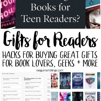 Gift Giving Hacks for Readers, Geeks and More