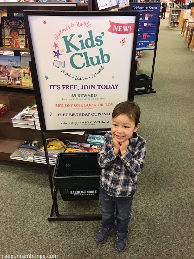 barnes & noble kids club and membership perks