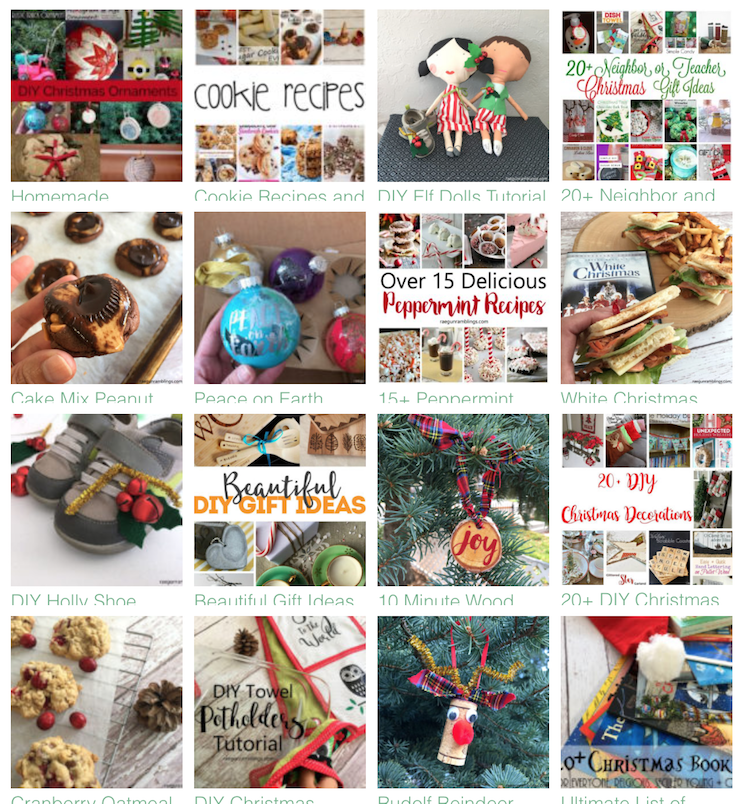 christmas crafts and recipes great easy tutorials and party ideas