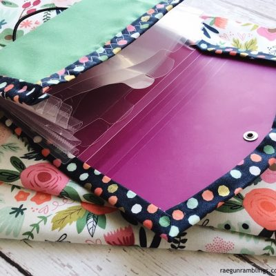Free Organizer Pattern with Cricut