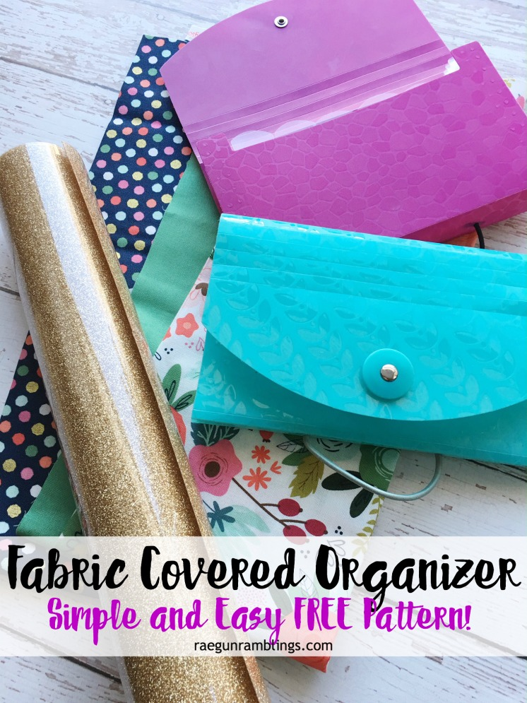 free pattern for a awesome DIY organizer perfect for Dave Ramsey followers. Coupon holder and nice option to make one on the Cricut Maker.