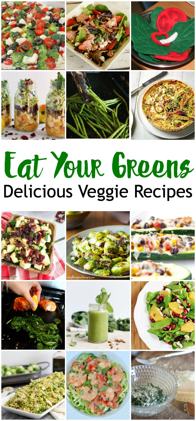 Delicious Vegetable recipes perfect for getting more veggies for family dinners