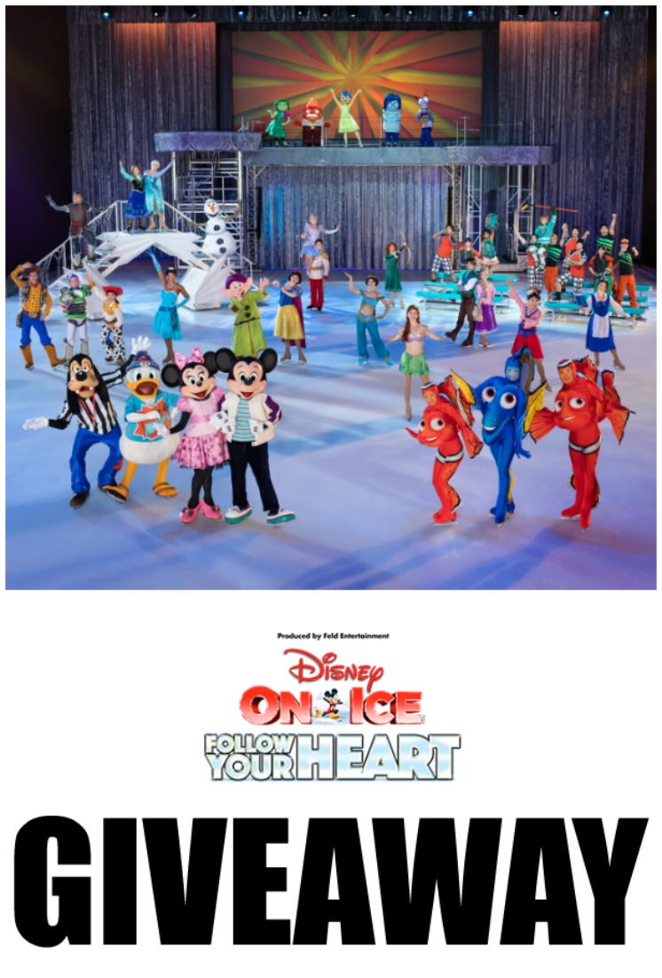 DISNEY ON ICE follow your heart giveaway