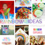 Rainbow crafts recipes and parties