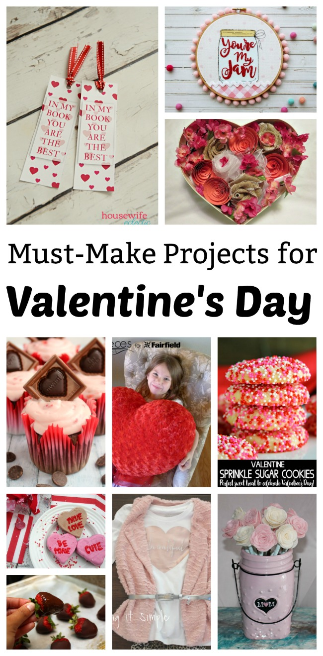 Valentine crafts and recipes great DIY ideas and tutorials