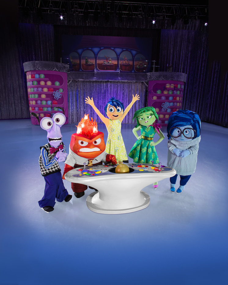 disney on ice emotions