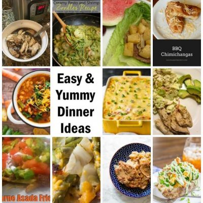 20 Easy Dinner Recipes and Block Party