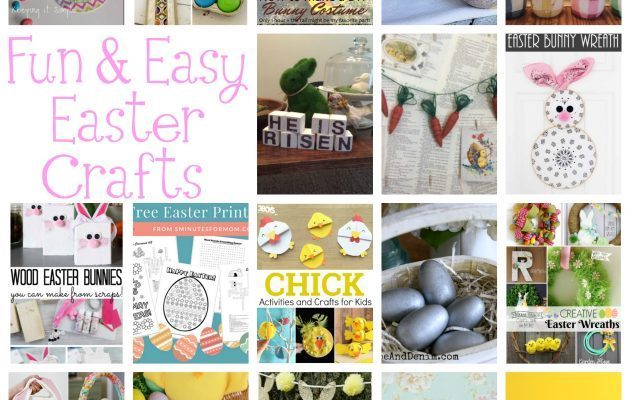 Easter Crafts and Block Party