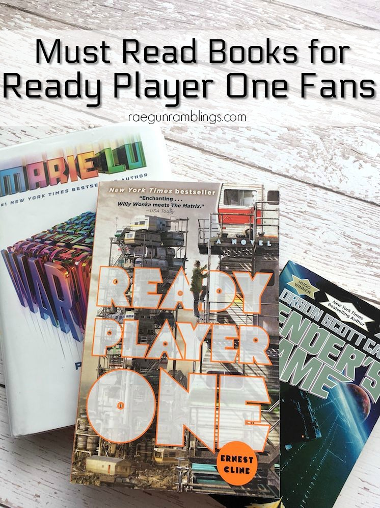 Great list of books for ready player one fans-2