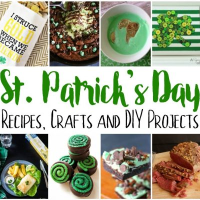 St. Patrick's Day Recipes, Crafts and Block Party