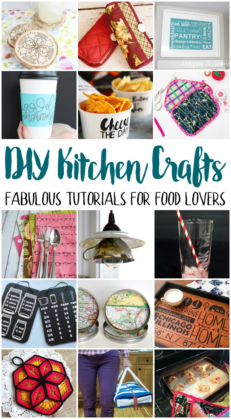 Easy diy kitchen crafts to make coral co for Kitchen crafts to make