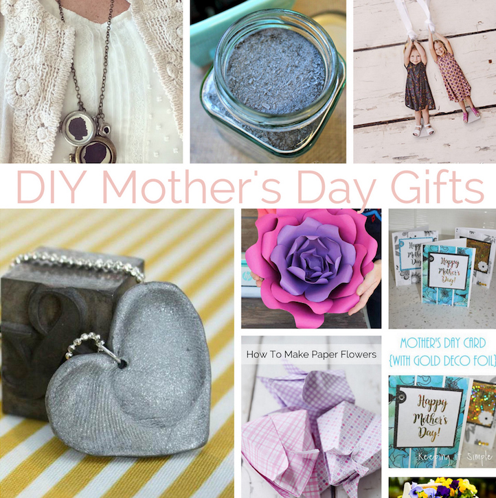 Easy tutorials for awesome DIY Mother's Day Gift ideas ...