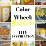 Color-Wheel-Yellow-DIY-Inspiration Yellow projects and party ideas