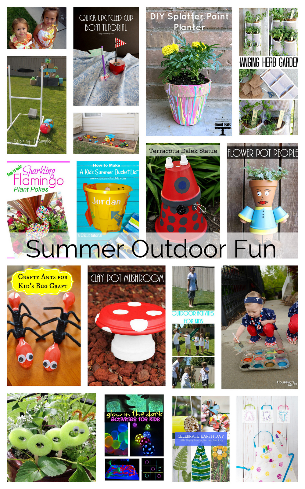 Great list of outdoor activities for kids perfect for school breaks