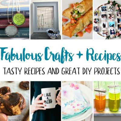 great recipes and DIY projects and craft tutorials