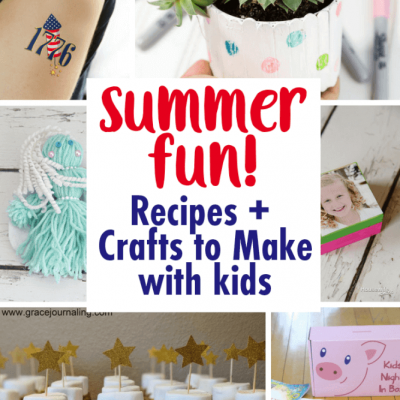 Aweseome DIY Kids-Crafts-and-Recipes for Summer Break