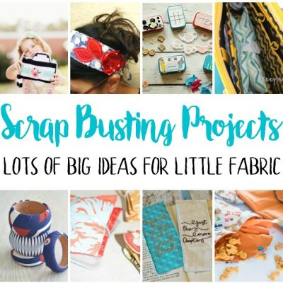 Scrap Busting Projects and Block Party