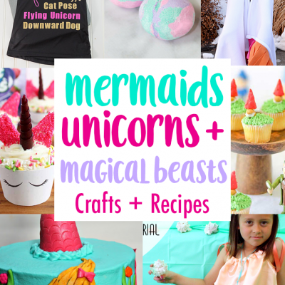 DIY Unicorns Mermaids Magical Beasts and Block Party