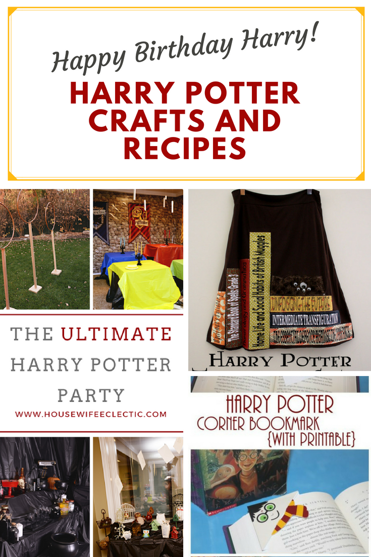 Harry-Potter-Crafts-and-Recipes for all ages