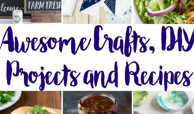 Awesome Crafts DIY Ideas Recipes and Block Party