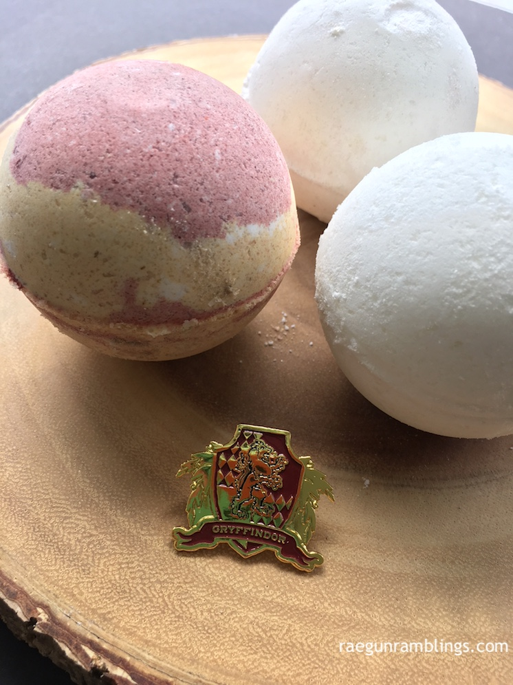 Handmade Harry Potter Bath bombs recipe great gift idea