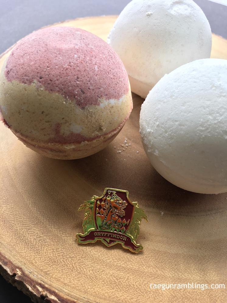 Handmade Harry Potter Bath bombs recipe great gift idea